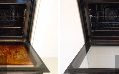 How do I know if my oven needs professionally cleaned?