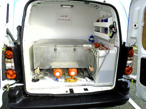 cooker cleaning service van