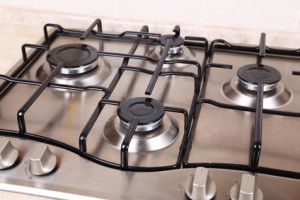 stainless steel stove hob gleams after hob cleaning service