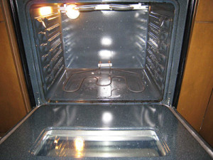 self cleaning ovens - a photo after cleaning